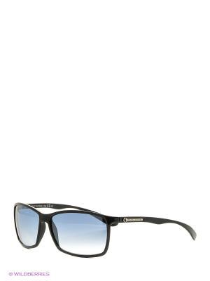 Солнцезащитные очки Franco Sordelli. Цвет: черный, синий