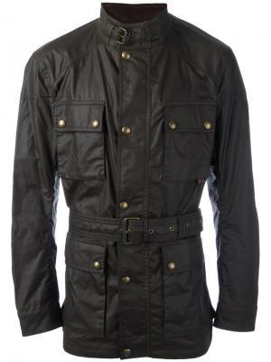 Куртка Roadmaster Belstaff. Цвет: зелёный