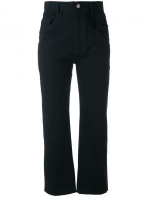 Укороченные брюки Posy Damir Doma. Цвет: чёрный