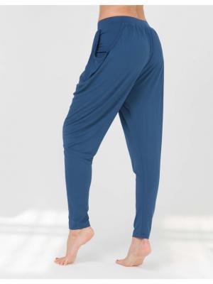 Брюки Never Mind yogadress. Цвет: индиго