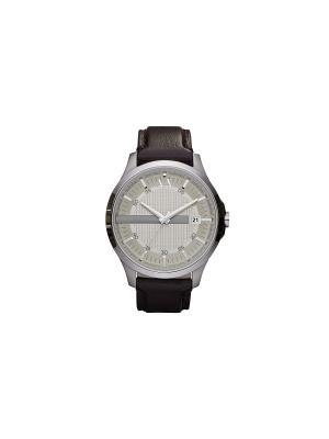 Часы Armani Exchange. Цвет: коричневый, светло-бежевый, серебристый