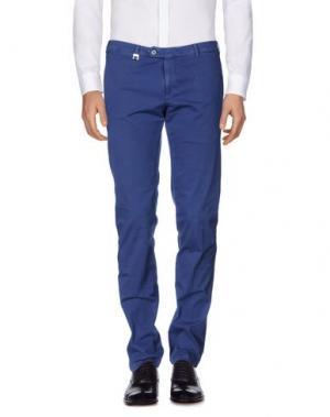 Повседневные брюки TOMBOLINI. Цвет: синий