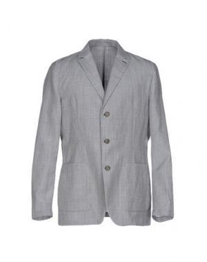 Пиджак FAÇONNABLE. Цвет: серый
