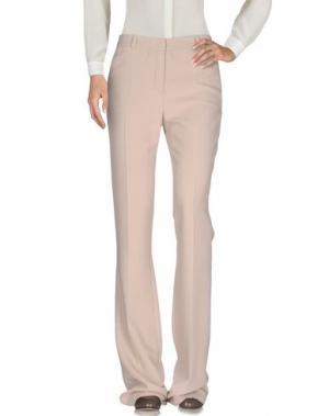 Повседневные брюки CAPUCCI. Цвет: песочный