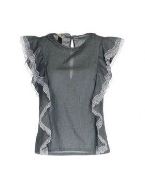 Блузка TOY G.. Цвет: грифельно-синий