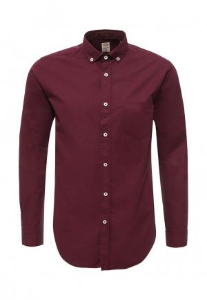 Рубашка Frank NY. Цвет: бордовый
