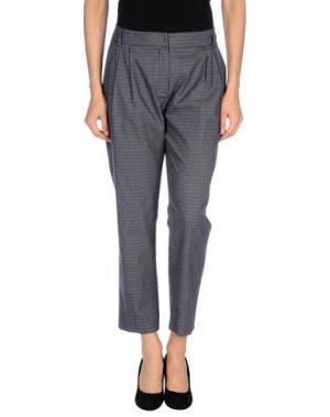 Повседневные брюки NIU'. Цвет: темно-синий