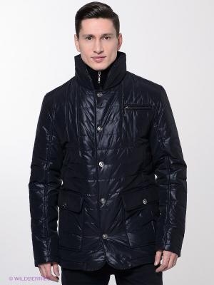 Куртка Bazioni. Цвет: темно-синий
