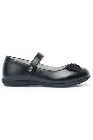 Туфли INDIGO KIDS. Цвет: чёрный