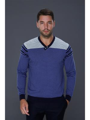 Пуловер John Jeniford. Цвет: фиолетовый
