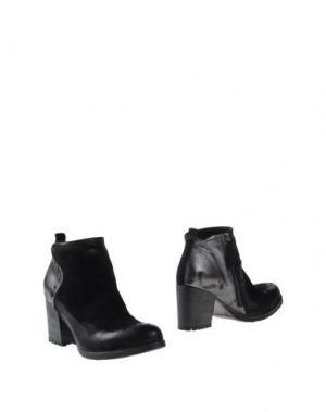 Полусапоги и высокие ботинки VOLPATO. Цвет: черный