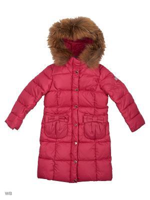 Пальто SNOWIMAGE. Цвет: малиновый