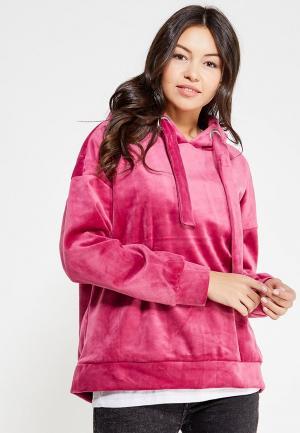 Худи Only. Цвет: розовый