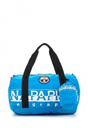 Сумка спортивная Napapijri. Цвет: голубой