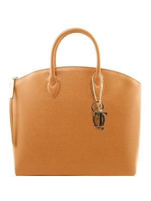 Сумка Tuscany Leather. Цвет: светло-коричневый