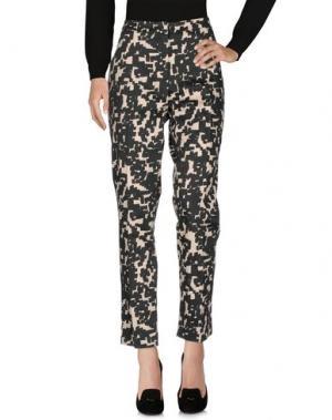 Повседневные брюки NATAN. Цвет: темно-зеленый