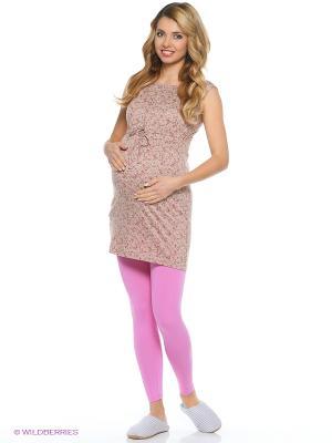 Комплект одежды для беременных Hunny Mammy. Цвет: бежевый, розовый