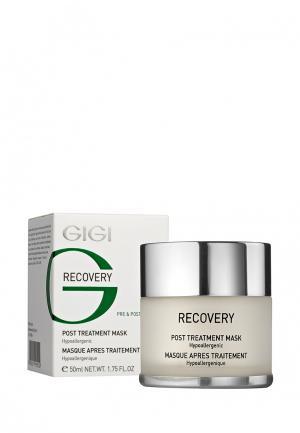 Маска для лица регенерирующая Gigi. Цвет: белый