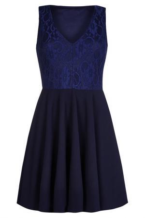 Платье Iska. Цвет: синий