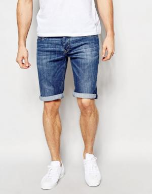 Pepe Heritage Джинсовые шорты Jeans Cash. Цвет: синий