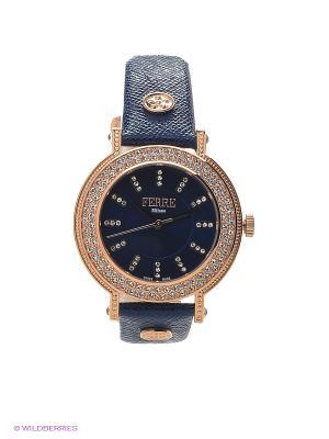 Часы Ferre Milano. Цвет: синий