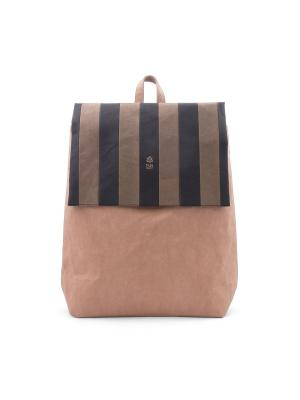 Рюкзак STRIPED FUN PACK KRAFT. Цвет: черный, оливковый, рыжий