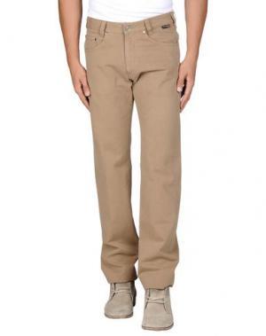 Повседневные брюки BETWOIN. Цвет: верблюжий