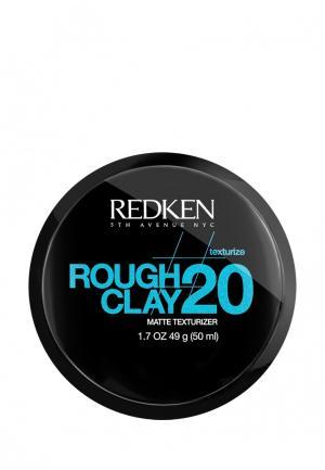 Глина Rough Glay 20 Redken. Цвет: черный