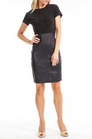 Платье Giorgio. Цвет: black and dark blue