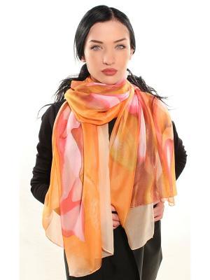 Палантин Sophie Ramage. Цвет: оранжевый
