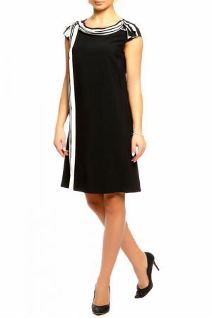 Платье SEVENTY. Цвет: черный