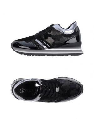 Низкие кеды и кроссовки APEPAZZA. Цвет: черный