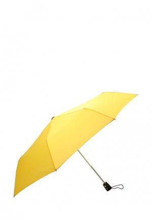 Зонт складной Labbra. Цвет: желтый
