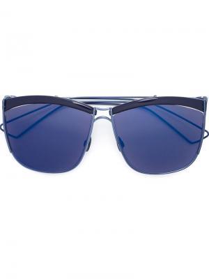 Солнцезащитные очки So Electric Dior Eyewear. Цвет: синий