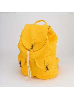 Городской ркзак TIMBAG. Цвет: желтый