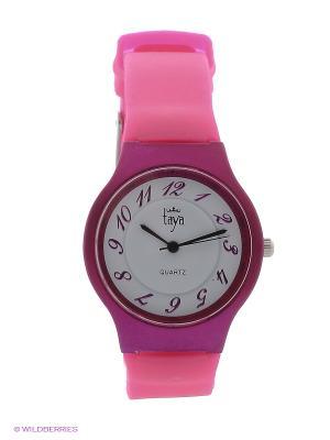 Часы Taya. Цвет: фуксия