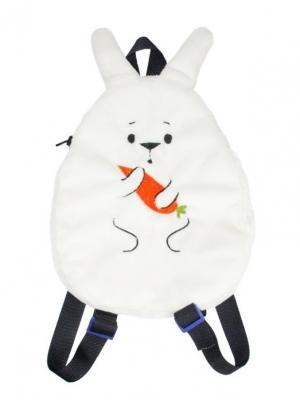 Сумка-рюкзак детская Зая Fancy. Цвет: белый