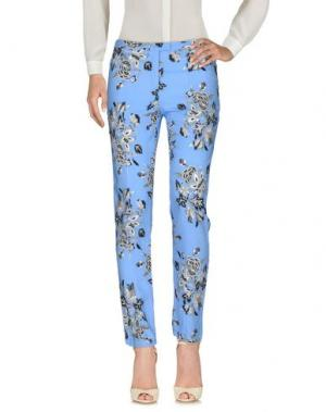 Повседневные брюки MOTEL ROCKS. Цвет: небесно-голубой