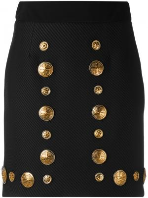 Metallic embellished skirt Fausto Puglisi. Цвет: чёрный