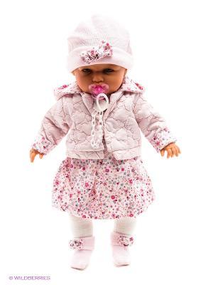 Кукла Анита в красном, 55 см Antonio Juan. Цвет: красный