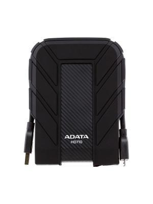 Жесткий диск A-Data USB 3.0 1Tb HD710 DashDrive Durable (5400 об/мин) 2.5 черный. Цвет: черный
