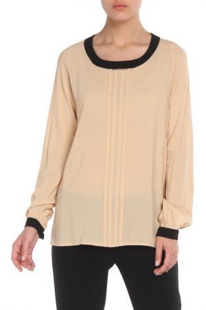 Свободная блузка с платком Cristina Effe. Цвет: 2015-6a 5, cammello