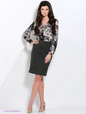 Блузка Valeria Lux 17290. Цвет: бежевый