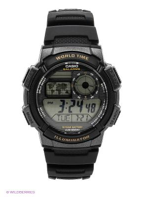 Часы Casio AE-1000W-1A. Цвет: черный