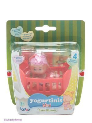 Пупс Йогуртини Мини с аксессуаром Yogurtinis. Цвет: красный, розовый, зеленый