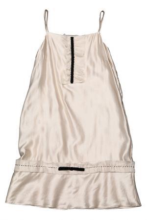 Платье Dino e Lucia. Цвет: бежевый