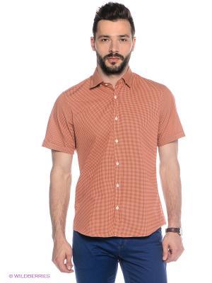 Рубашка MONDIGO. Цвет: светло-оранжевый