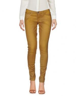 Повседневные брюки TWENTY8TWELVE. Цвет: коричневый