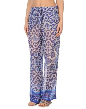 Пляжные брюки и шорты SEKLI. Цвет: фиолетовый