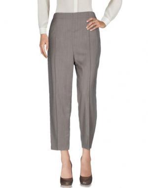Повседневные брюки CARLO CONTRADA. Цвет: темно-коричневый